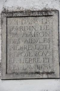 Plaque maison des aïeules - Saint Pierre d'Oléron