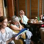 VENISE Danieli, lotiens écoutant Marie-Pierre lisant Loti - 7/6/2015
