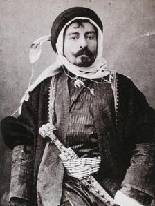 Pierre-Loti costumé en Arabe