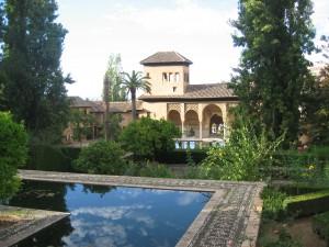 pavillon des femmes dans l'Alhambra de Grenade