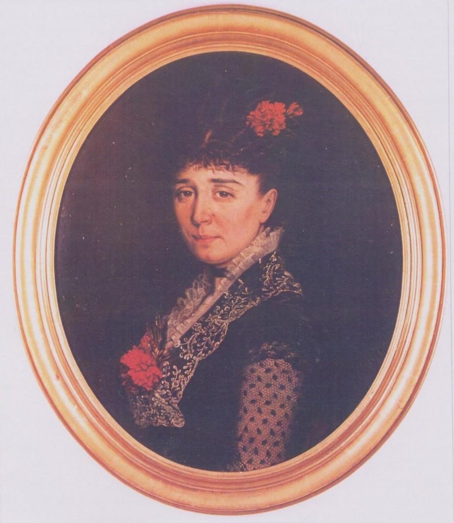 19 - Portrait de Marie Roberthie, née Molin de Teyssieu, par Marie Bon (1878). Cliché de Louis Gineste (rcollection particulière)