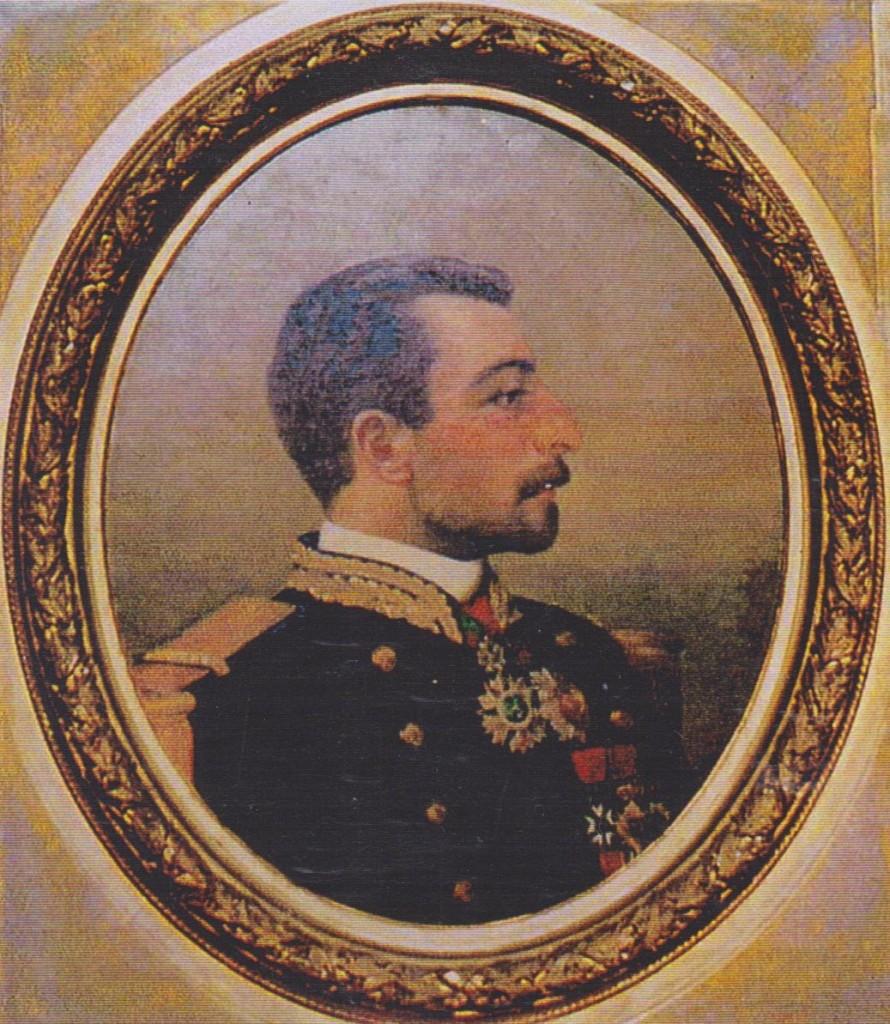 5 - Pierre Loti en uniforme d'officier de marine peint par sa soeur Marie-Bon (collection particulière)