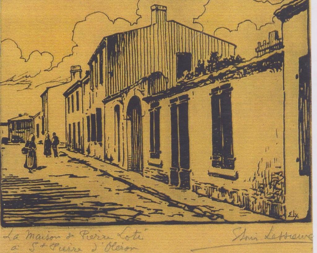 6 - Bois gravé de Ernest-Louis Leyssieux (collection particulière)