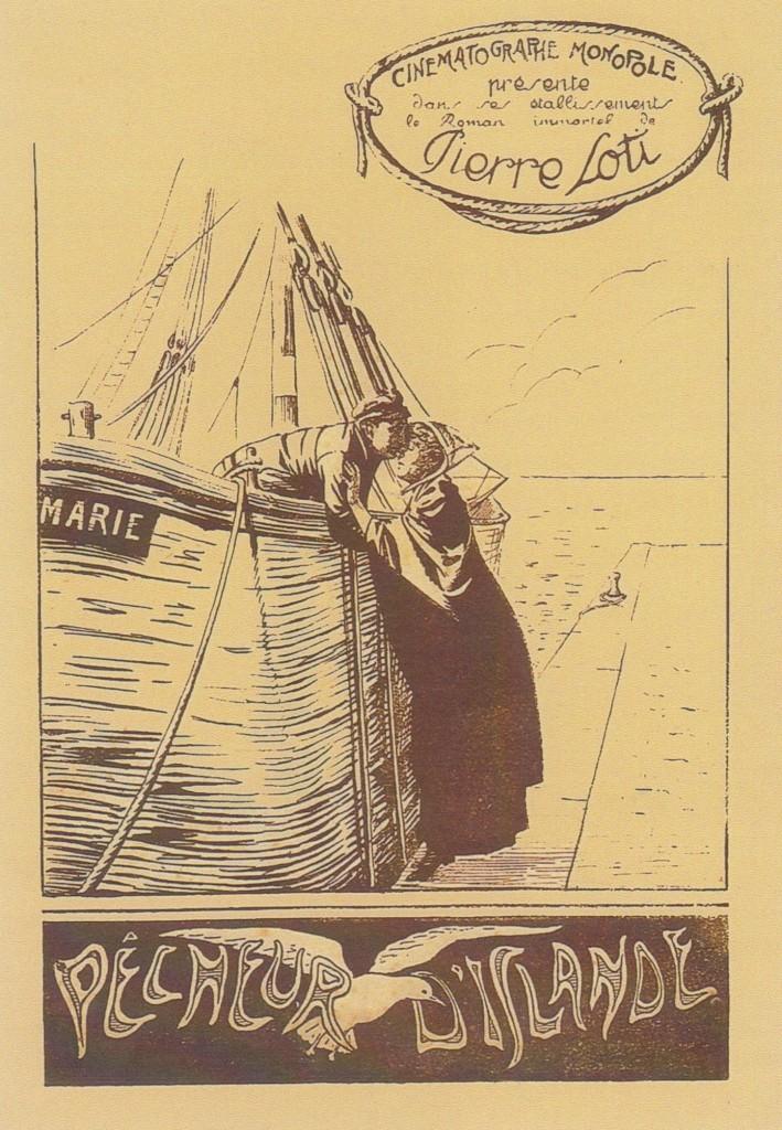 7 - Affiche de pêcheur d'Islande. Film de Jacques de Baroncelli