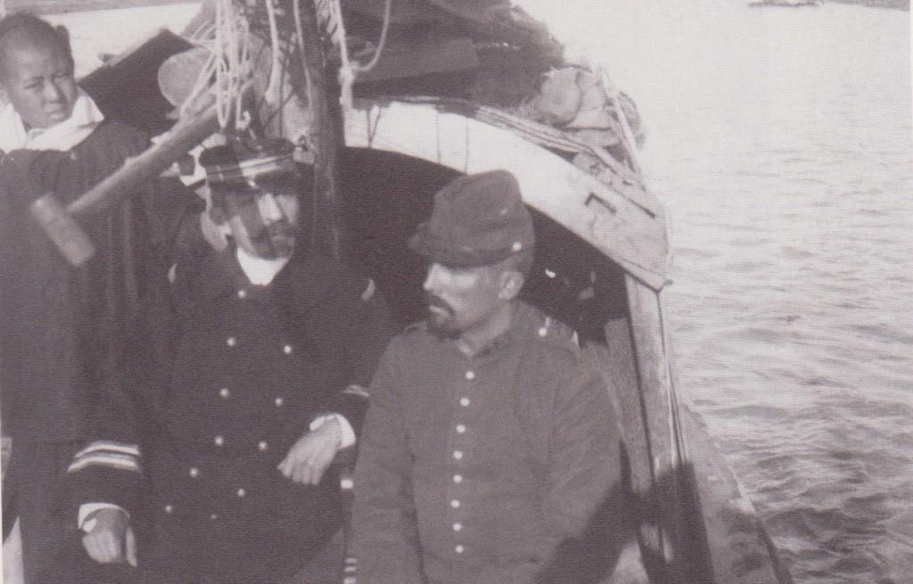 1900. En chine.