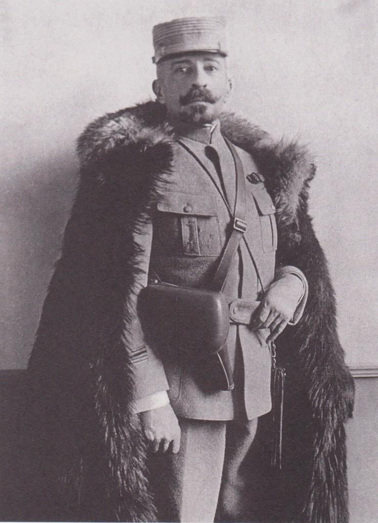 1914-1918 en uniforme de fantassin.