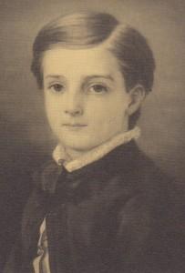 Portrait de Loti enfant. 1858. Rochefort.