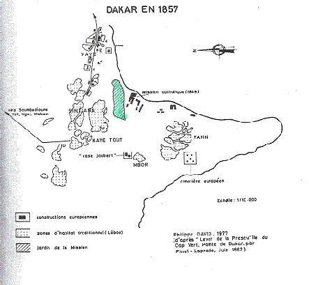Sur les pas de pierre loti au s n gal du 22 novembre au 3 for Plan de dakar