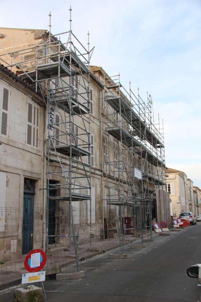 Travaux de restauration maison LOTI Rochefort 26 février 2016 - JX1953