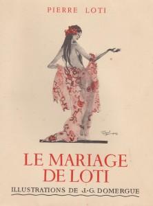 le mariage de LOTI-illustrations Domergue-Calmann Levy 1936