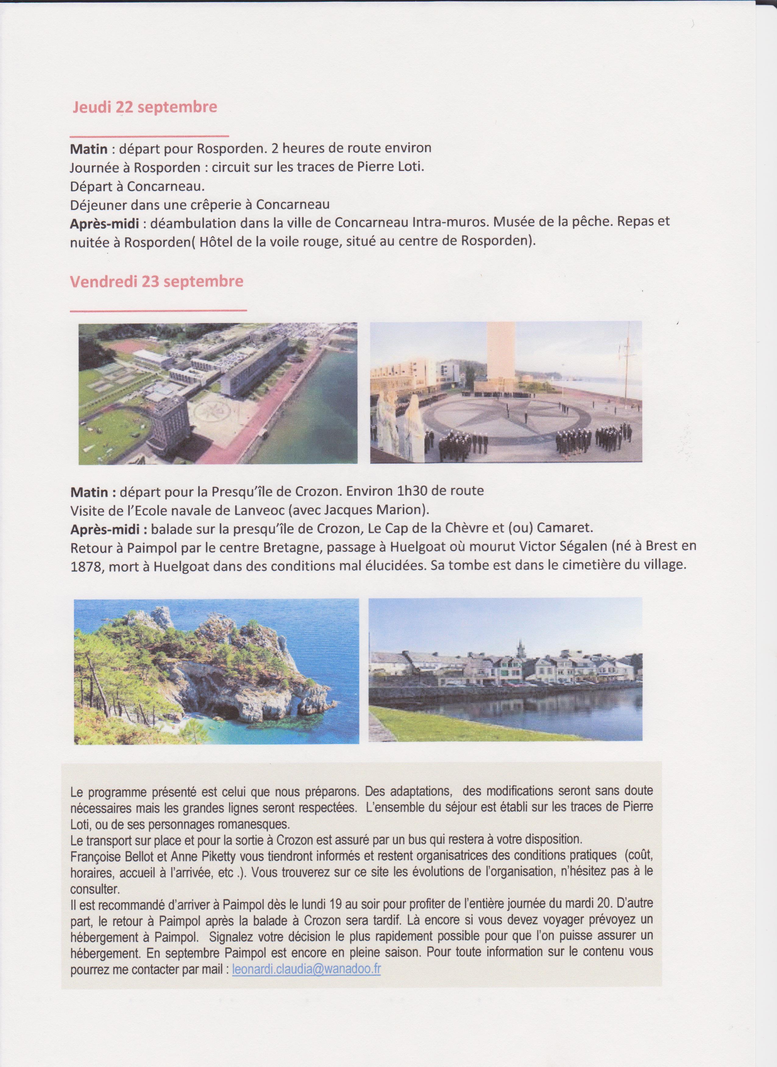 voyage en Bretagne 2016 - page 2