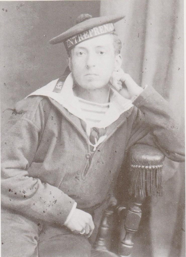Pierre Loti en tenue de matelot - Frégate l'Entreprenante