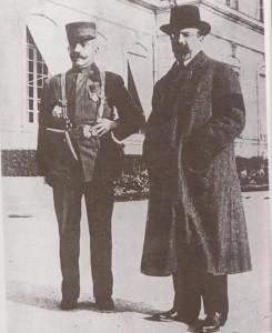 Pierre Loti et Louis Barthou