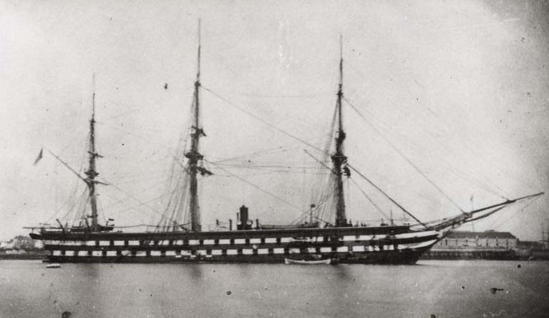 l'Entreprenante (frégate) 1858-1896