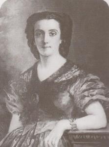 Marie Viaud - autoportrait vers 1851