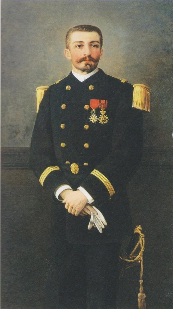 Peinture de Marie Viaud (P. Loti Lieutenant de vaisseau).