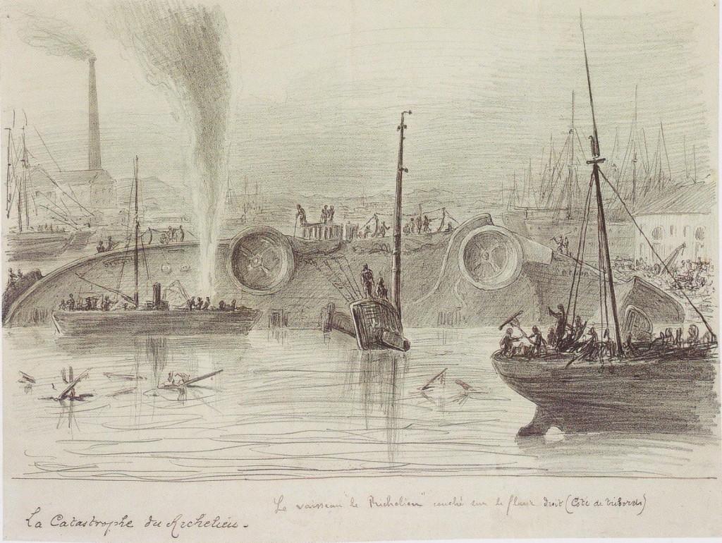 JV-Catastrophe Richelieu-1880-p132