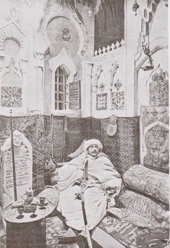 chambre arabe 9x