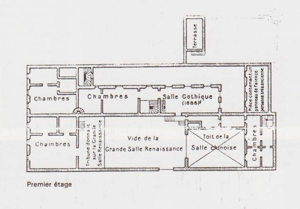 plan maison loti 1er étage