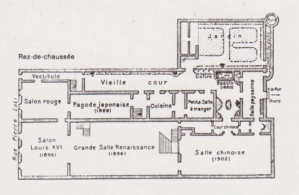 plan maison loti RDC