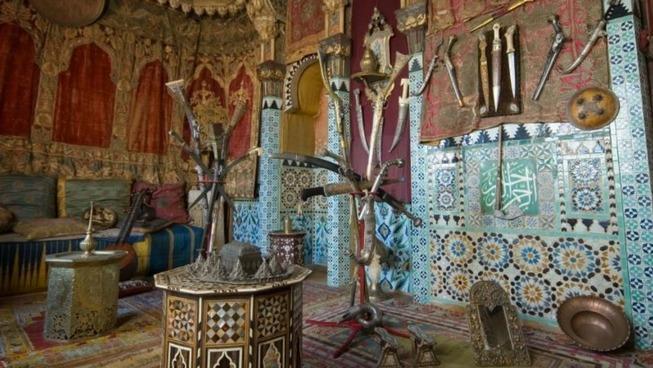 La Maison Pierre Loti, le salon turc © Maison Pierre Loti - Ville de Rochefort.