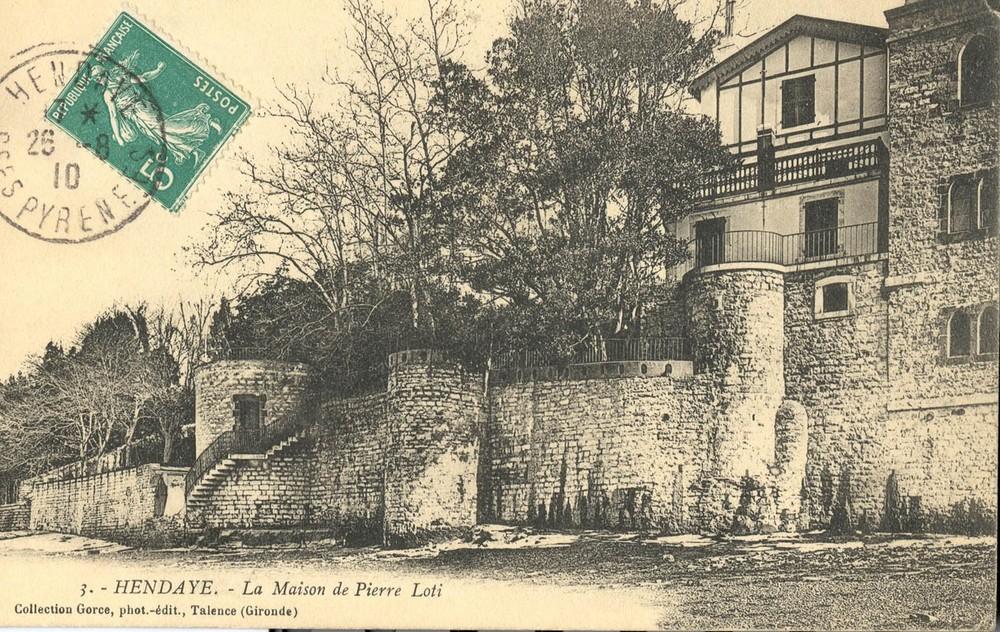 Hendaye-Maison Loti 1910