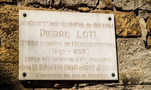 Plaque Loti Bretenoux
