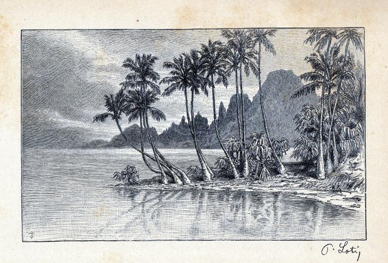 Tahiti-dessin Loti