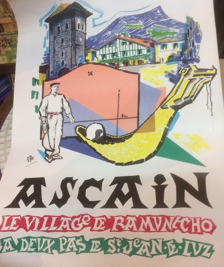 affiche Ascain