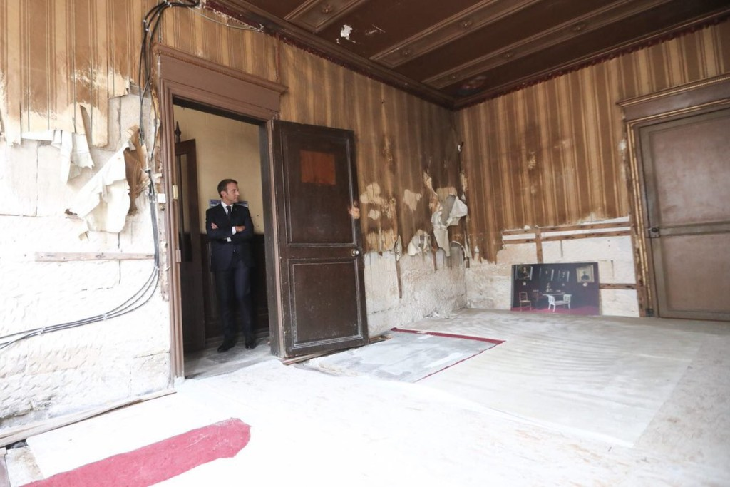 Macron intérieur maison Loti-14-6-2018