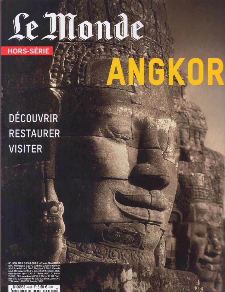 Couverture Le Monde Angkor