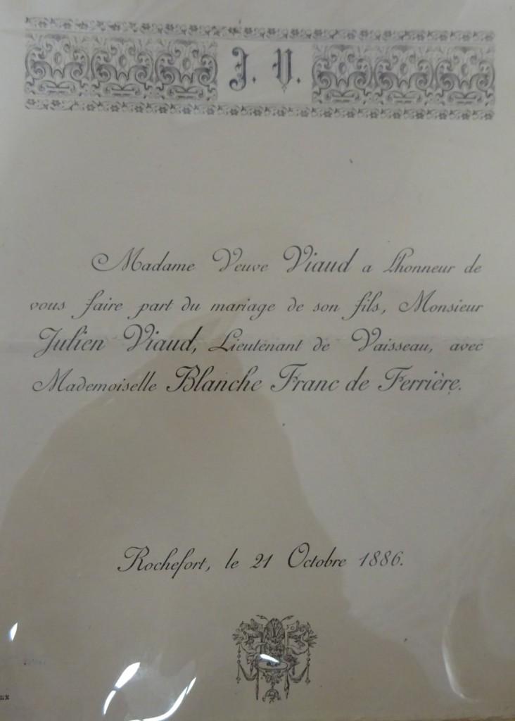 Avis mariage Blanche-Julien
