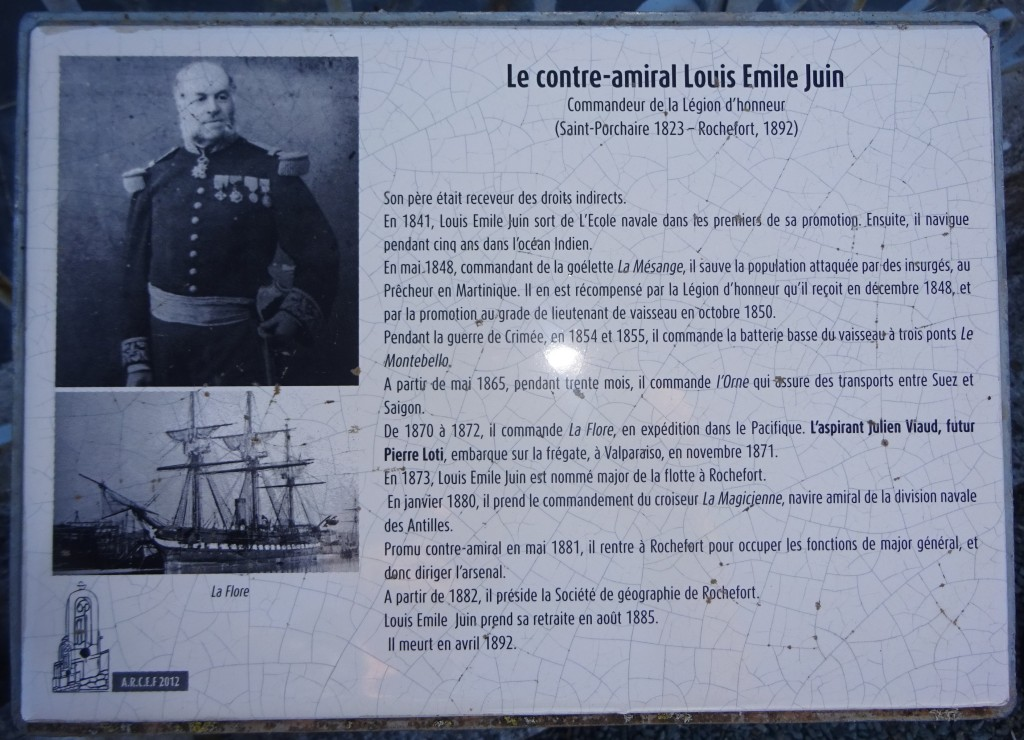 Contre-Amiral Juin-La Flore