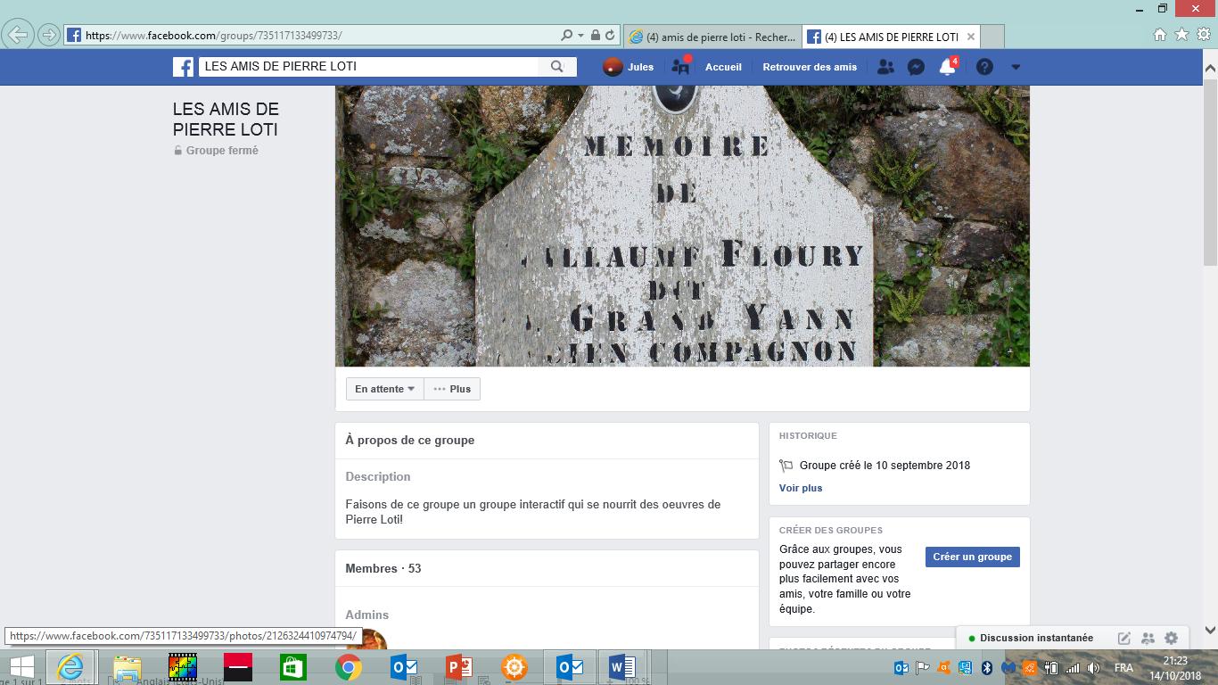 Image Facebook Alain Adam