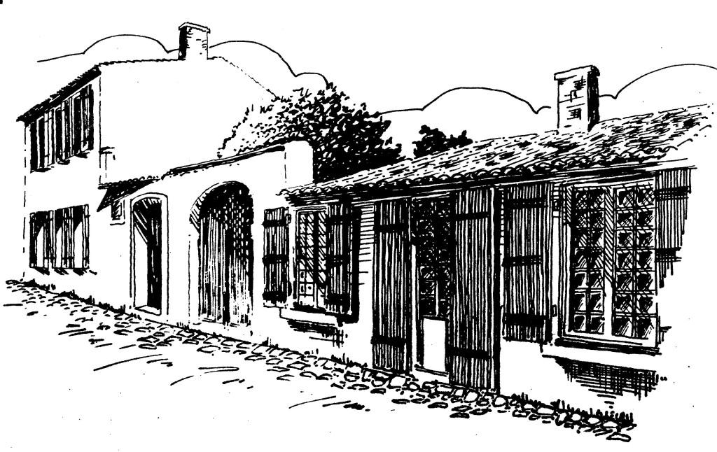 Maison des Aïeules, carte Petrocorienne Périgueux