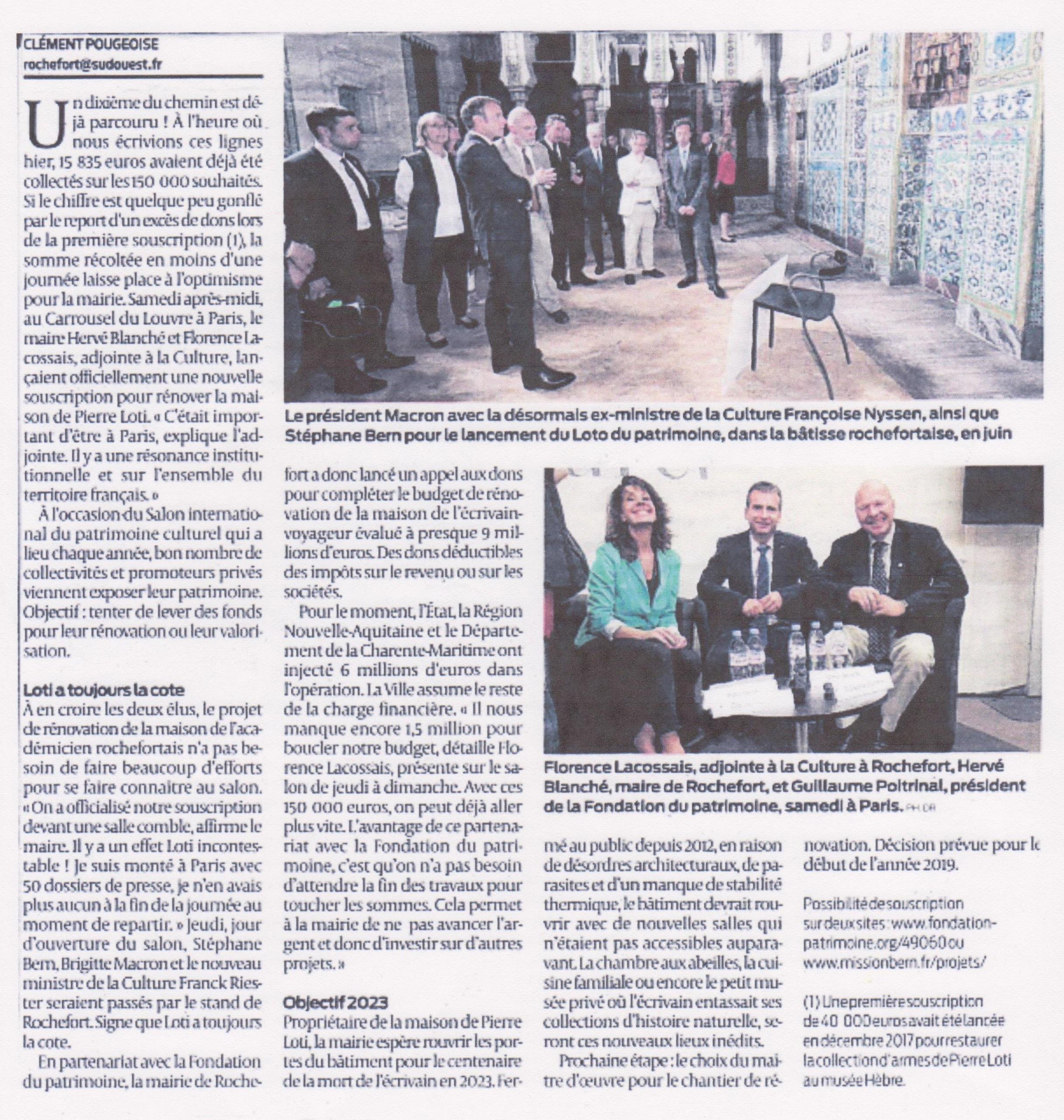 Article Nvlle souscription maison Pierre Loti-2a