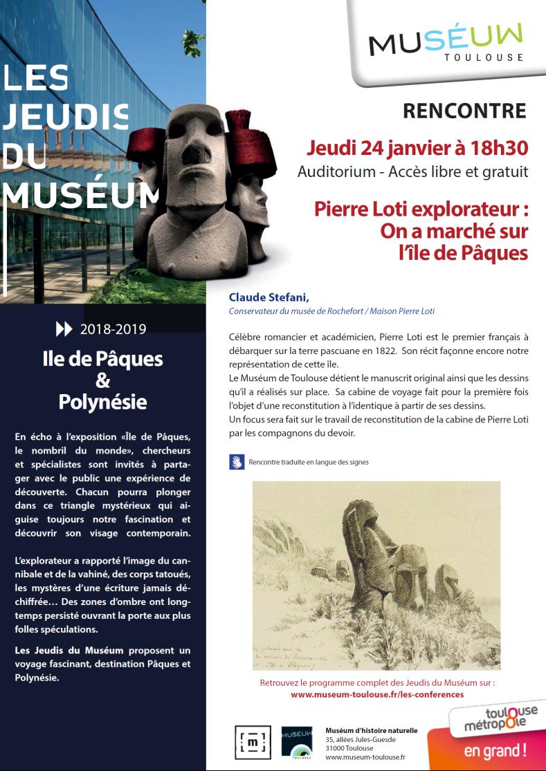 Conférence Stéfani Toulouse 24-01-2019