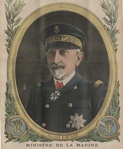 Amiral Lacaze en 1916 Le Petit Journal