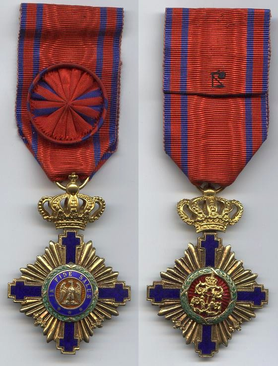 Croix d'officier d'Etoile de Roumanie