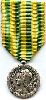 Médaille du Tonkin, de la Chine et de l'Annam