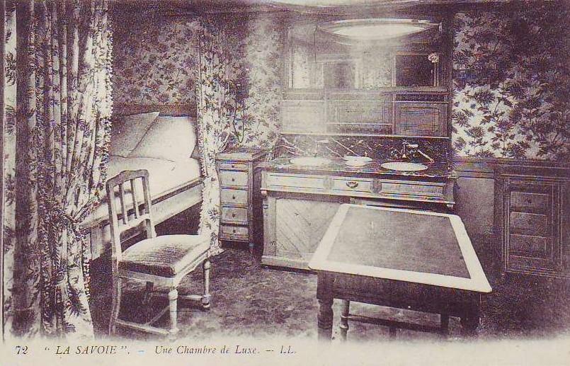 chambre-de-luxe-Paquebot La Savoie