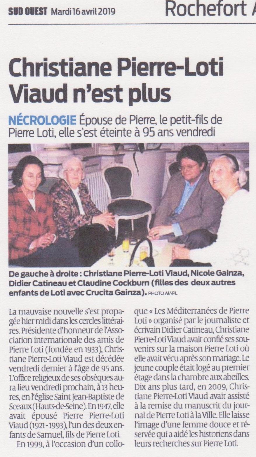 Christiane Pierre Loti Viaud