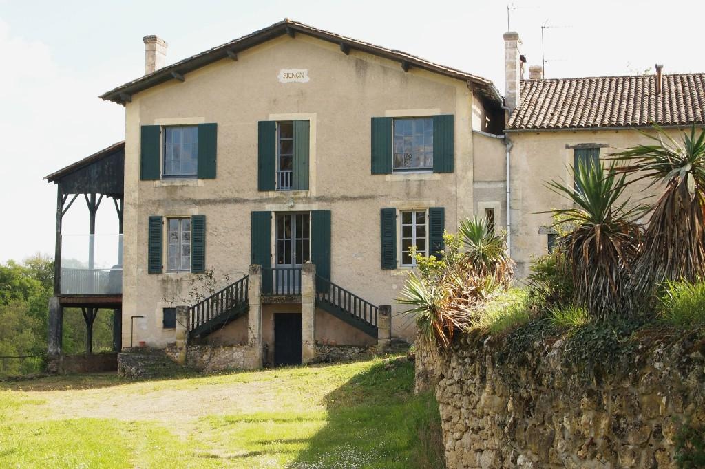 """<span style=""""color: #000000;"""">Juillac (Gironde), maison du Pignon © Yves Nicolas</span>"""