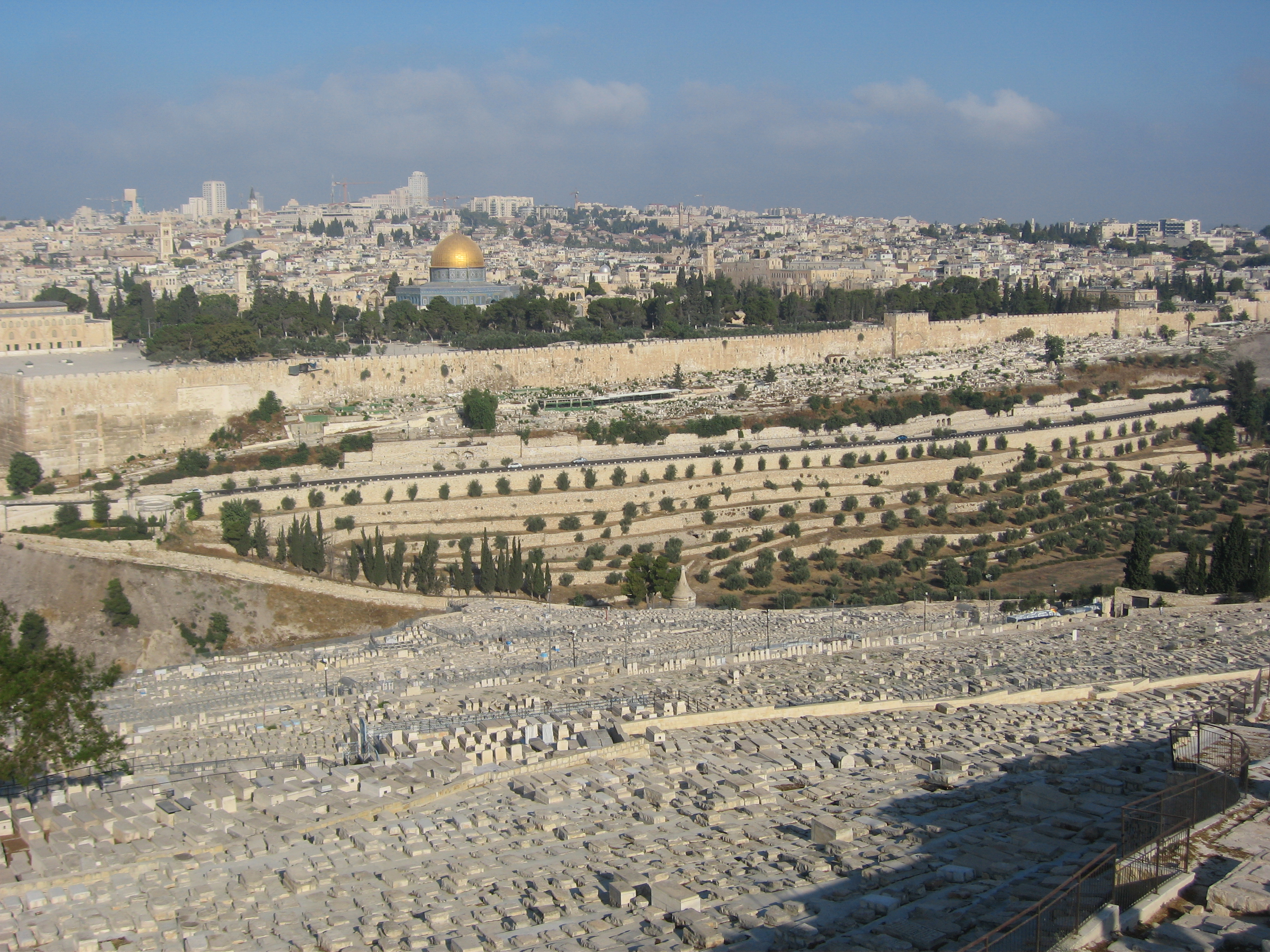 10-Vue sur Jérusalem depuis le Mont des Oliviers
