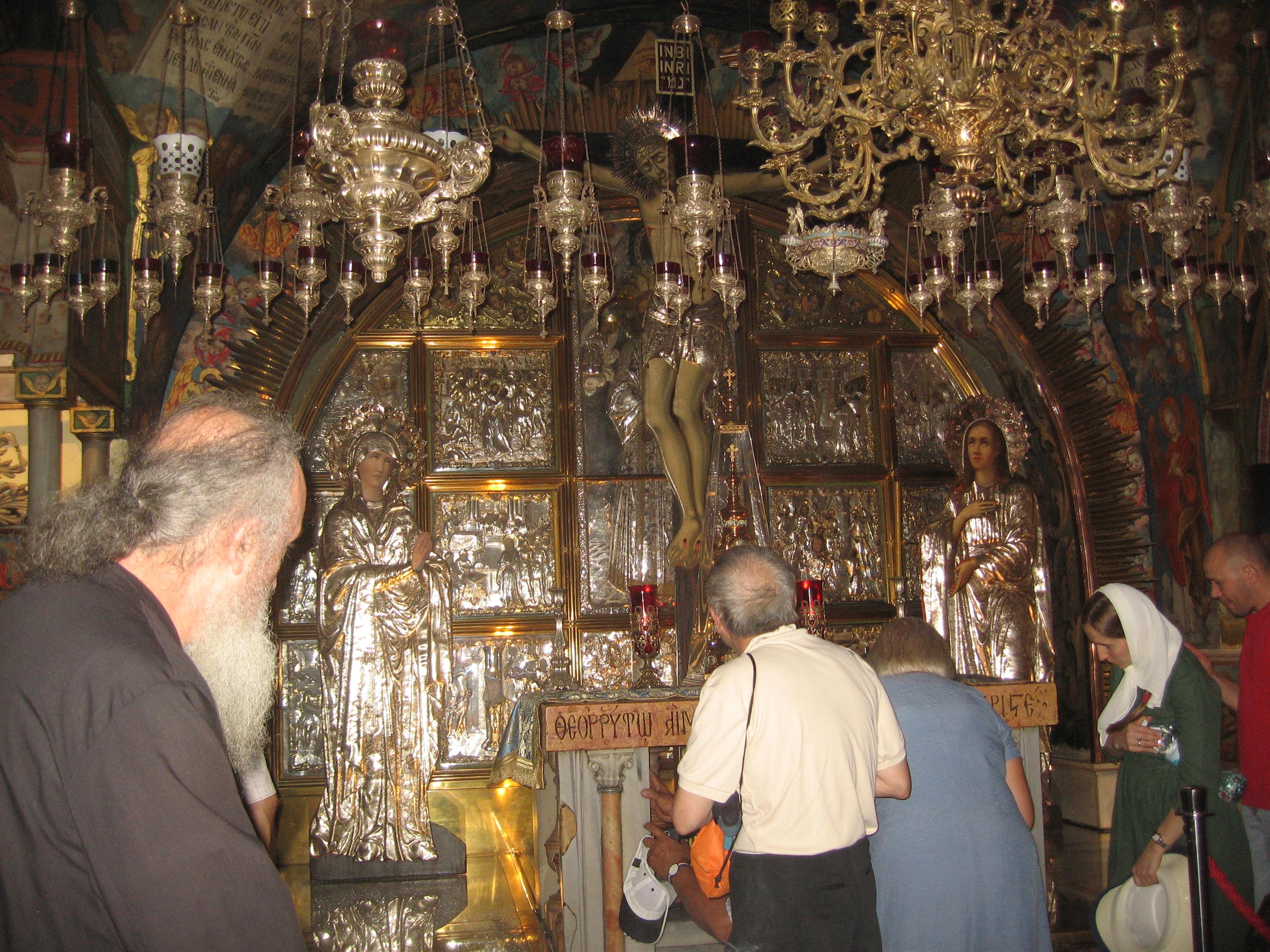 15-A l'intérieur du Saint-Sépulcre
