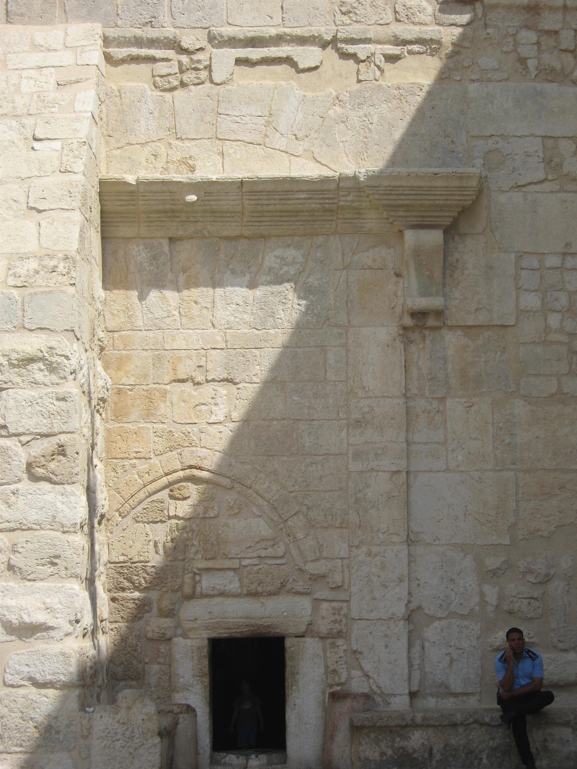 17-Entrée de la Basilique de la Nativité à Bethléem