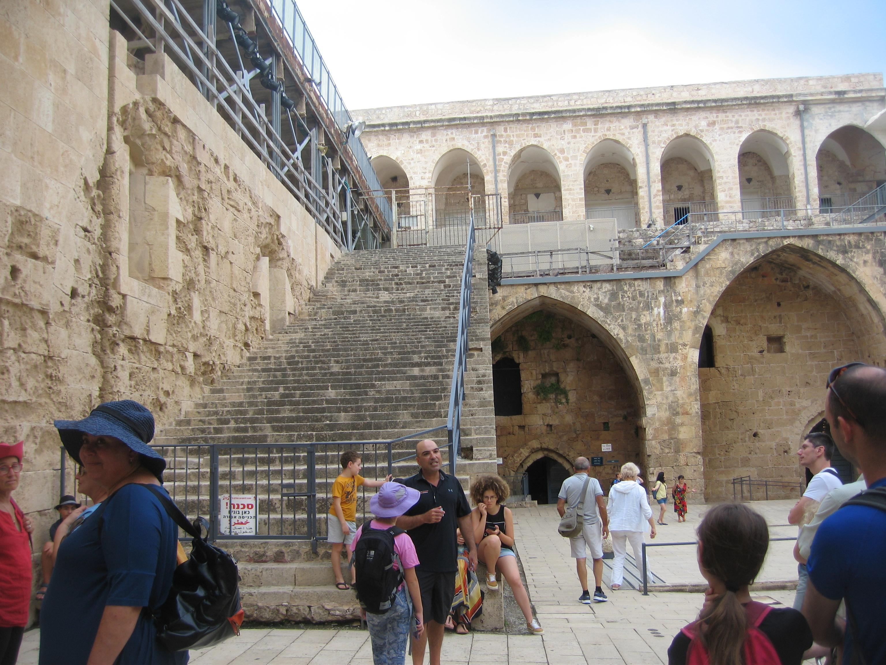 5-palais desTempliers à Saint jean d'Acre-5
