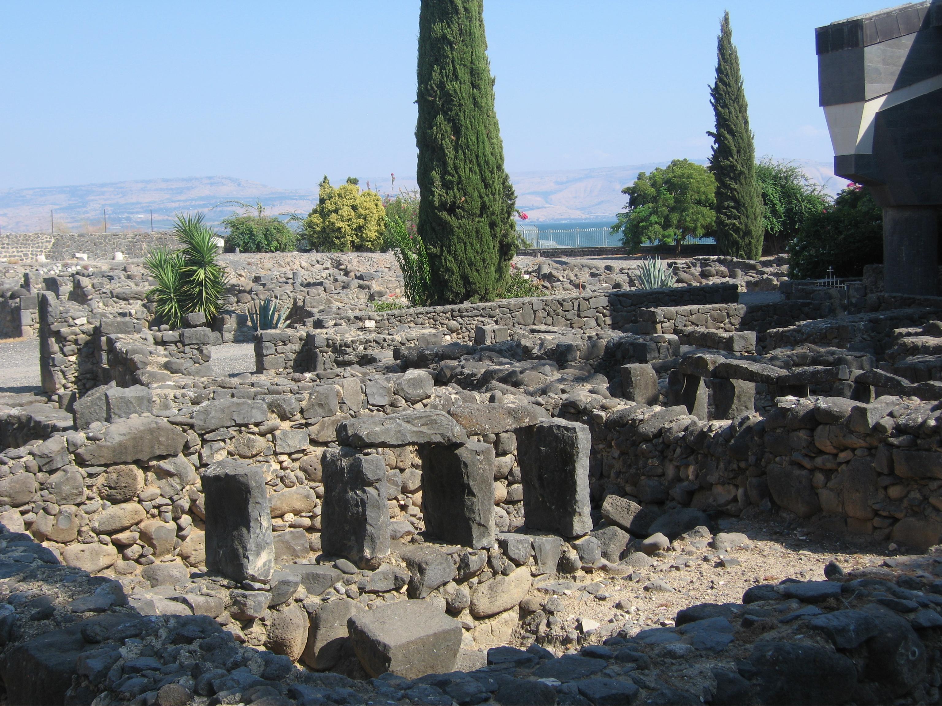 7-Restes de la ville de Capharnaüm