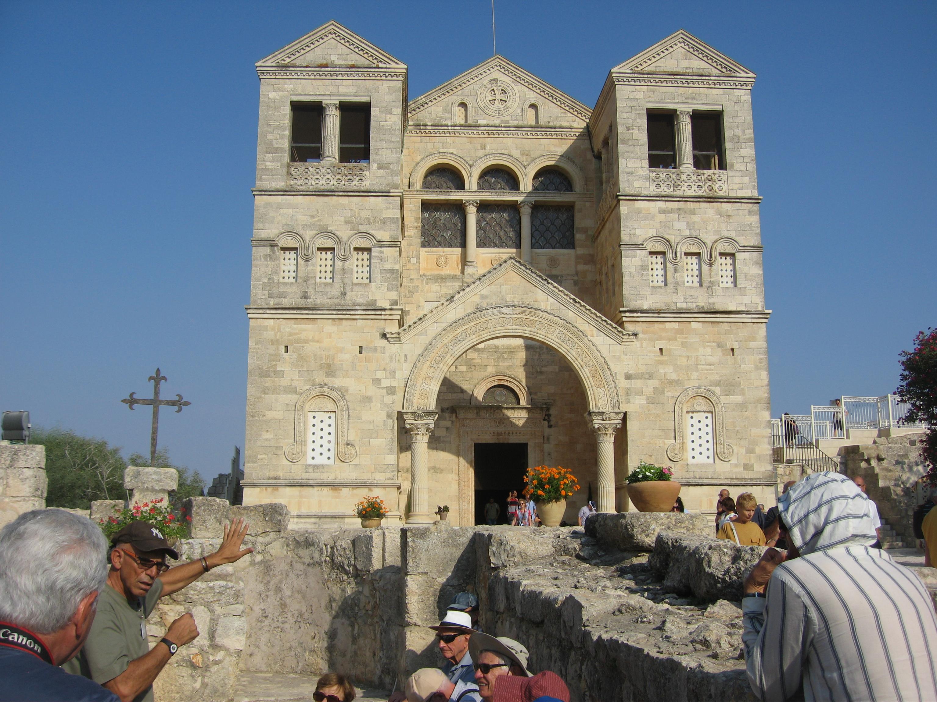 9-Basilique de la Transfiguration au Mont Thabor