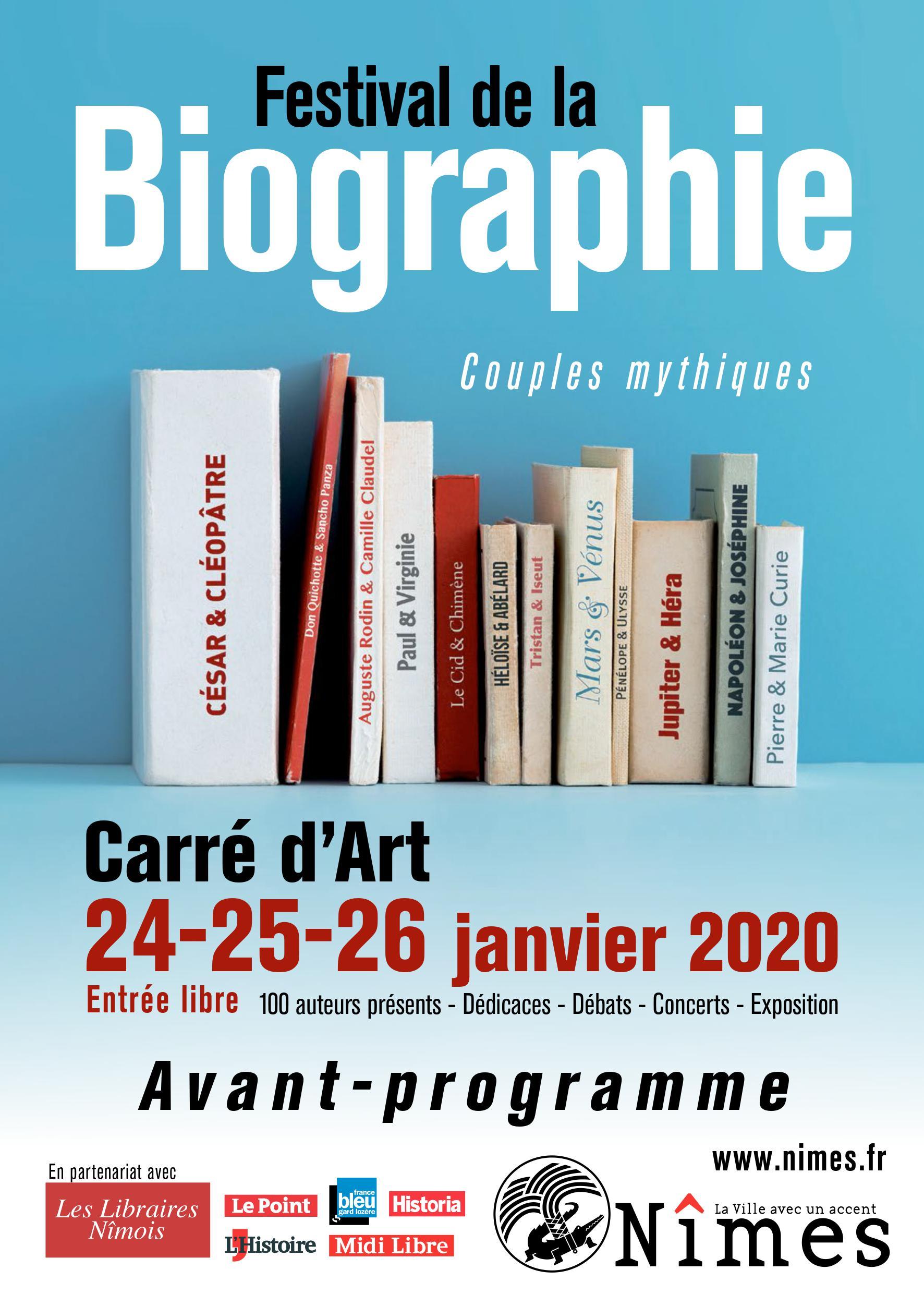 Festival Bigraphie Nîmes 2020-1